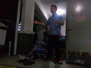 sesi sharing oleh Ucup senpai :D